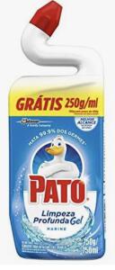 [Prime + Recorrência] Limpador Sanitário Pato Marine 750ml