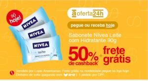 [APP] Sabonete Nívea com 50% de cashback