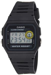 Relógio Masculino Casio Digital F-94WA-8DG - Preto | R$123