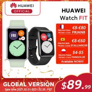 Smartwatch Huawei Watch Fit | R$517