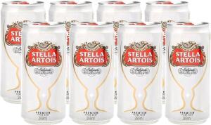 Cerveja Stella Artois 8 unidades [R$6,40 cashback - R$18] | R$25
