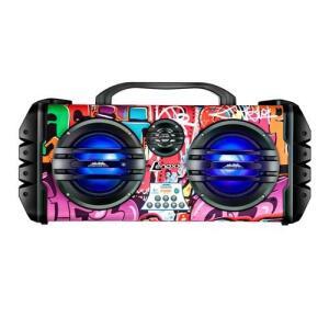 Caixa de Som Amplificada Lenoxx Sound Wave CA445 Bluetooth, Rádio FM, Micro SD, USB, Função Karaokê, 250W | R$461