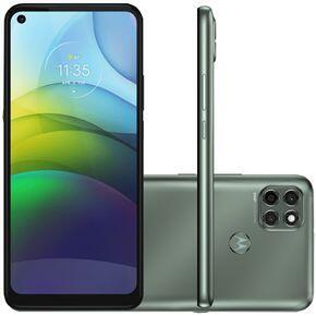 "[AME R$1351] Smartphone Moto G9 Power Verde Pacífico 128GB Tela 6.8"" 4GB RAM R$1510"
