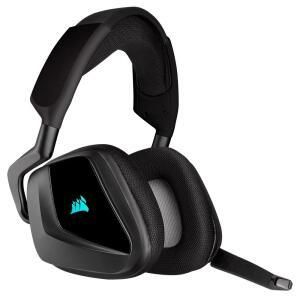 Headset Gamer Corsair Void Elite Wireless, RGB, Surround 7.1, Drivers 50mm, Carbono R$620