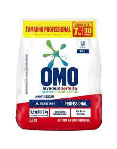 Detergente em Pó Omo Profissional Lavagem Perfeita 5.6kg R$46