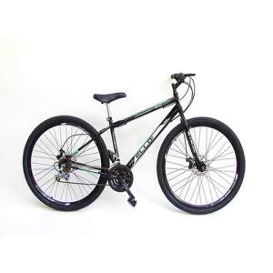 [AME R$635] Bicicleta Aro 29 Freio à Disco 21 M Velox Preta/Verde - Ello Bike - R$648