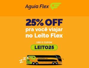 [Aguia Flex] Cupom   25% OFF   Poltrona Leito