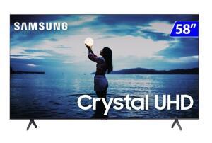 "Smart Tv Samsung 4k 58"" - R$2492"