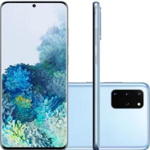 "(AME R$2829) Smartphone Samsung Galaxy S20+ Dual Chip Android 128GB Octa-Core 2.73GHz Tela Infinita de 6.7"" - R$2879"