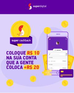 Super Cashback Banco Super Digital