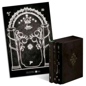 [App] Box de Livros - Senhor Dos Anéis (3 Volumes) + Pôster - R$ 90