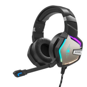 Fone de Ouvido BlitzWolf® BW-GH1 Pro Gaming Headset 7.1/5.1   R$ 151