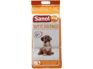 [Cliente Ouro] Tapete Higiênico Sanol Dog 80x60cm - 30 Unidades | R$ 21
