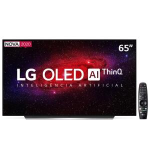 "Smart TV OLED 65"" UHD 4K LG OLED65CX Wi-Fi, Bluetooth, HDR, Inteligência Artificial ThinQ AI, Google Assistente, Alexa, Smart Magic R$8999"