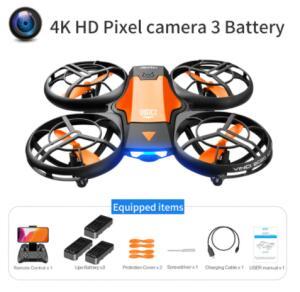 Mini Drone V8 RC 4K HD 03 Baterias | R$217