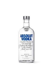 Vodka Absolut Regular 750ml | R$ 50