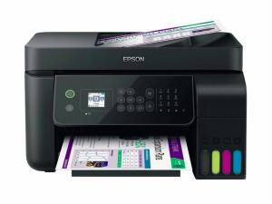 Multifuncional Tanque de Tinta Epson EcoTank L5190 Wireless - Impressora, Copiadora, Scanner e Fax