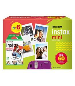 Filme para Instax Mini Fujifilm | 60 unid | R$2,80 cada