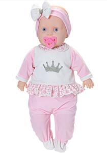 Boneca Baby New Collection Macacão Comprido   R$55