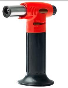 Maçarico Recarregável Brinox Glacê em Aço Inox e ABS | R$76