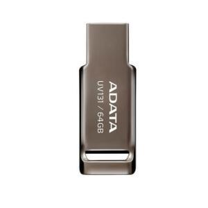 Pen Drive Adata UV131, 64GB, USB 3.2, Cinza - AUV131-64G-RGY - R$ 60