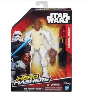 Boneco Hasbro Hero Mashers Star Wars Admiral Akbar | R$44