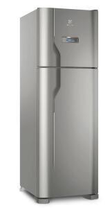 Refrigerador Electrolux DFX41 Frost Free com Turbo Congelamento 371L - Inox | R$2.327
