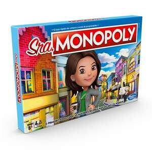 Jogo de Tabuleiro Hasbro - Miss Monopoly   R$ 97