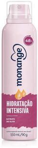 [Recorrência] Desodorante Aerossol Monange Hidratação Intensiva 90G, Monange | R$5,39