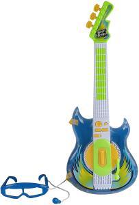 Guitarra Rock Star Azul Zoop Toys | R$136