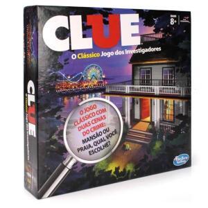 Jogo Clue - Hasbro | R$58