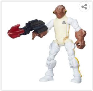 Boneco Hasbro Hero Mashers Star Wars Admiral Akbar | R$ 44