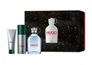 Kit Perfume Hugo Boss Hugo Man EDT 125ml + Gel de Banho + Desodorante Spray | R$268