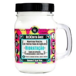 (Cliente Ouro) Lola Cosmetics Be(m)dita Ghee Banana e Aloe Vera - Máscara de Hidratação 350g | R$26