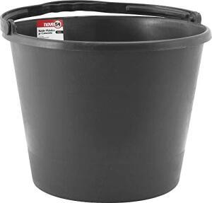 [Prime] Balde de Plástico para Concreto, Nove 54, 12 L | R$ 9