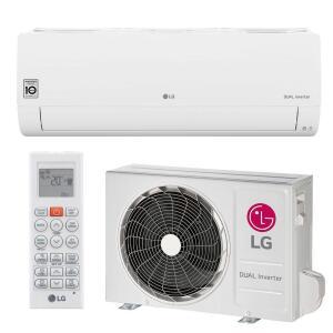 Ar Condi. Split LG Voice Dual Inverter 12000 BTUs Q/F 220V | R$2081