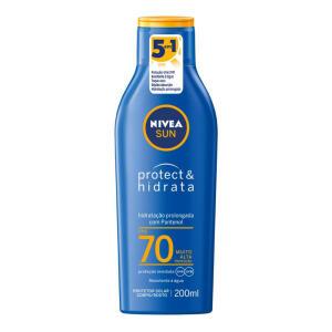 Protetor Solar Nivea Sun Protect & Hidrata FPS 70 200ml | R$25