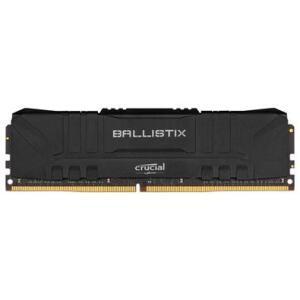 Memória RAM Crucial Ballistix 8GB DDR4 2666 Mhz, CL16, UDIMM, Preto - BL8G26C16U4B | R$230