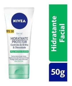 Hidratante Protetor Facial Fps 30 Nivea - 50g | R$14