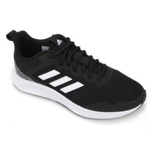 (APP) Tênis Adidas Fluidstreet Masculino - Preto e Branco R$160