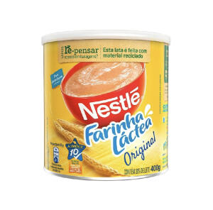 Farinha Láctea 400g - Nestlé | R$ 9,12