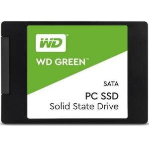 SSD WD Green, 480GB, SATA, Leitura 545MB/s, Gravação 430MB/s - R$375