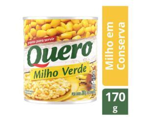 (cliente ouro) Milho em Conserva Quero Pronto para Servir - 170g | R$1,60
