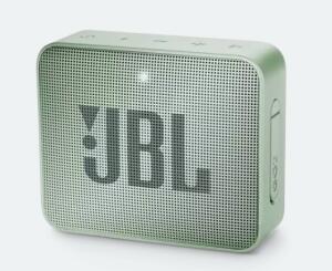 JBL GO 2 | R$161 Cor verde da foto