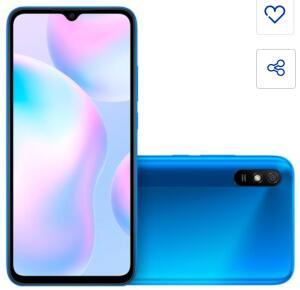 Smartphone Xiaomi Redmi 9A Azul 32GB | R$872