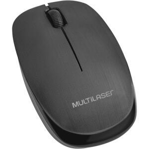Mouse Sem Fio USB 2.4 GHz Preto MO251 Multilaser | R$23
