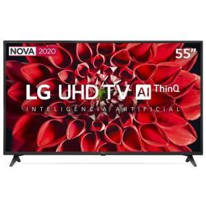 "Smart TV LED 55"" UHD 4K LG R$2339"