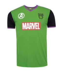 Camiseta Disney - Fardamento Futebol Hulk R$40