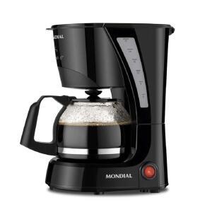 Cafeteira Elétrica Mondial Pratic NC-25 17 Xícaras – Preta | R$62