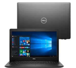 "Notebook Dell Core i3-8145U 4GB 1TB Tela 15.6"" Windows 10 | R$2909"